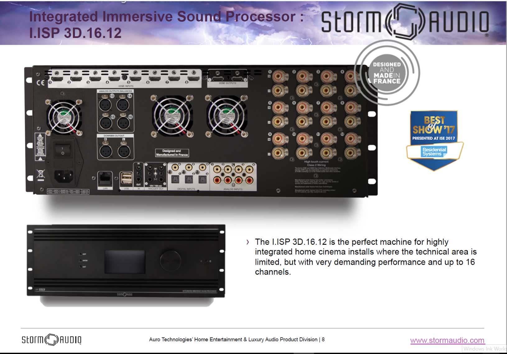 av-receiver-product-sheet