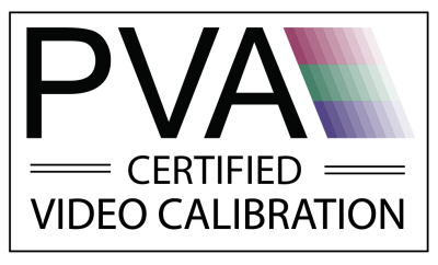 PVA-certified video calibration