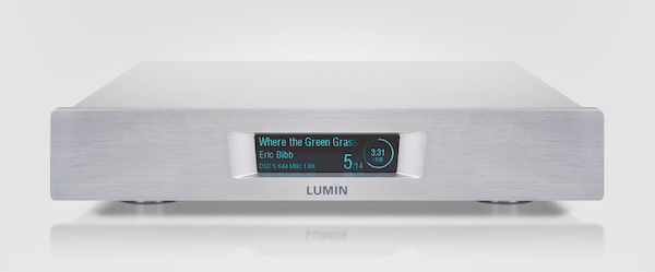Lumin D2 network player, Lumin Vancouver, high-end audio Vancouver