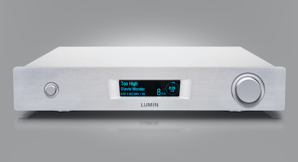 Lumin M1 network player amplifier silver, Lumin Vancouver