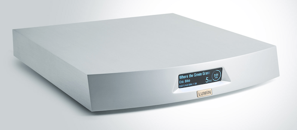 Lumin S1 silver network player, Lumin Vancouver