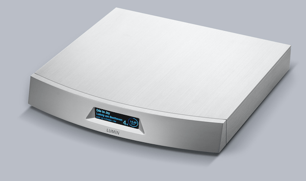 Lumin T2 network player, Lumin Vancouver, high-end audio Vancouver