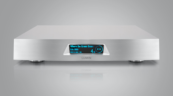 Lumin U1 network transport silver, Lumin Vancouver, high-end audio Vancouver